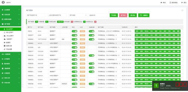 万商金服聚合代付支付系统聚合支付开源平台系统源码[无授权]